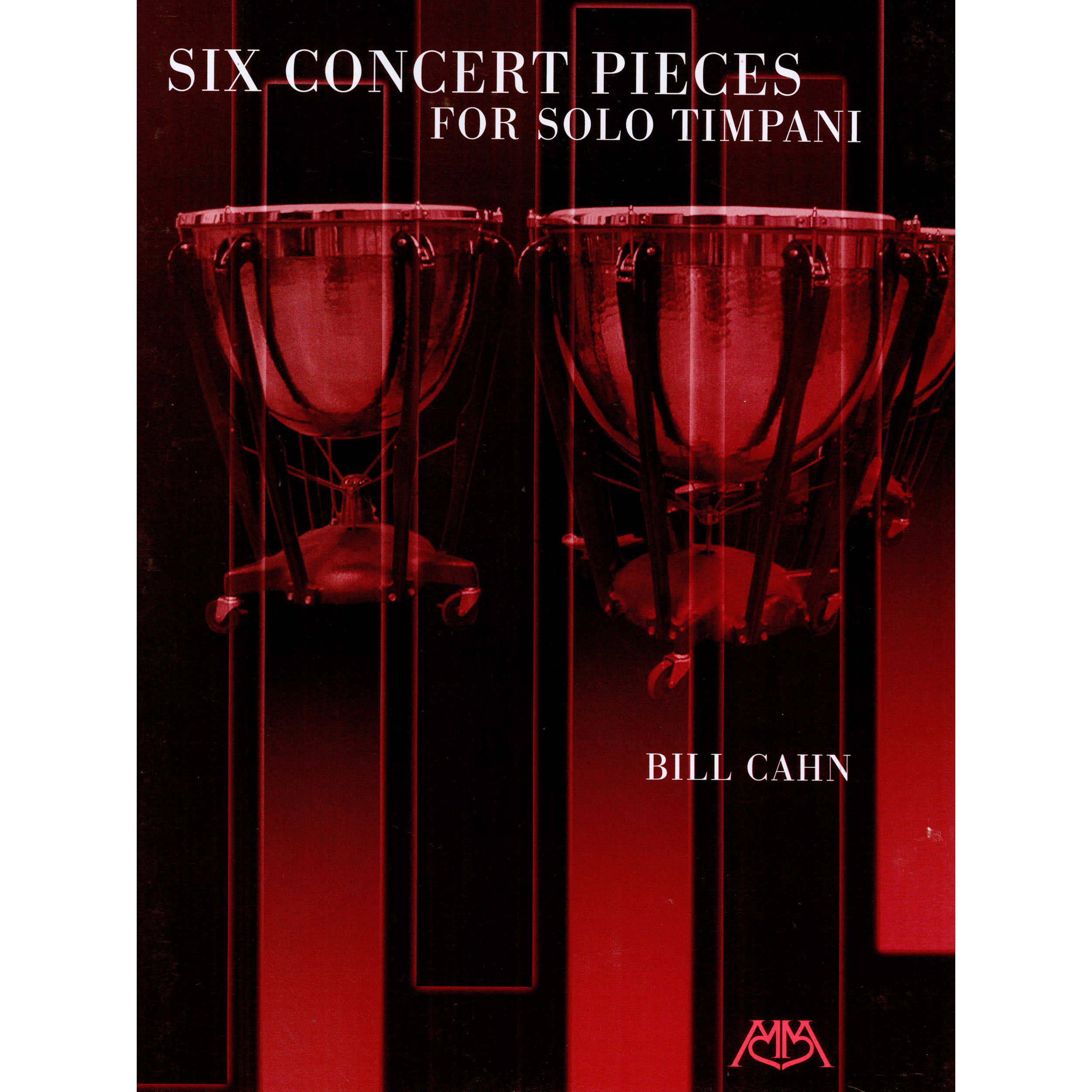 Six Concert Pieces for Solo Timpani by William Cahn