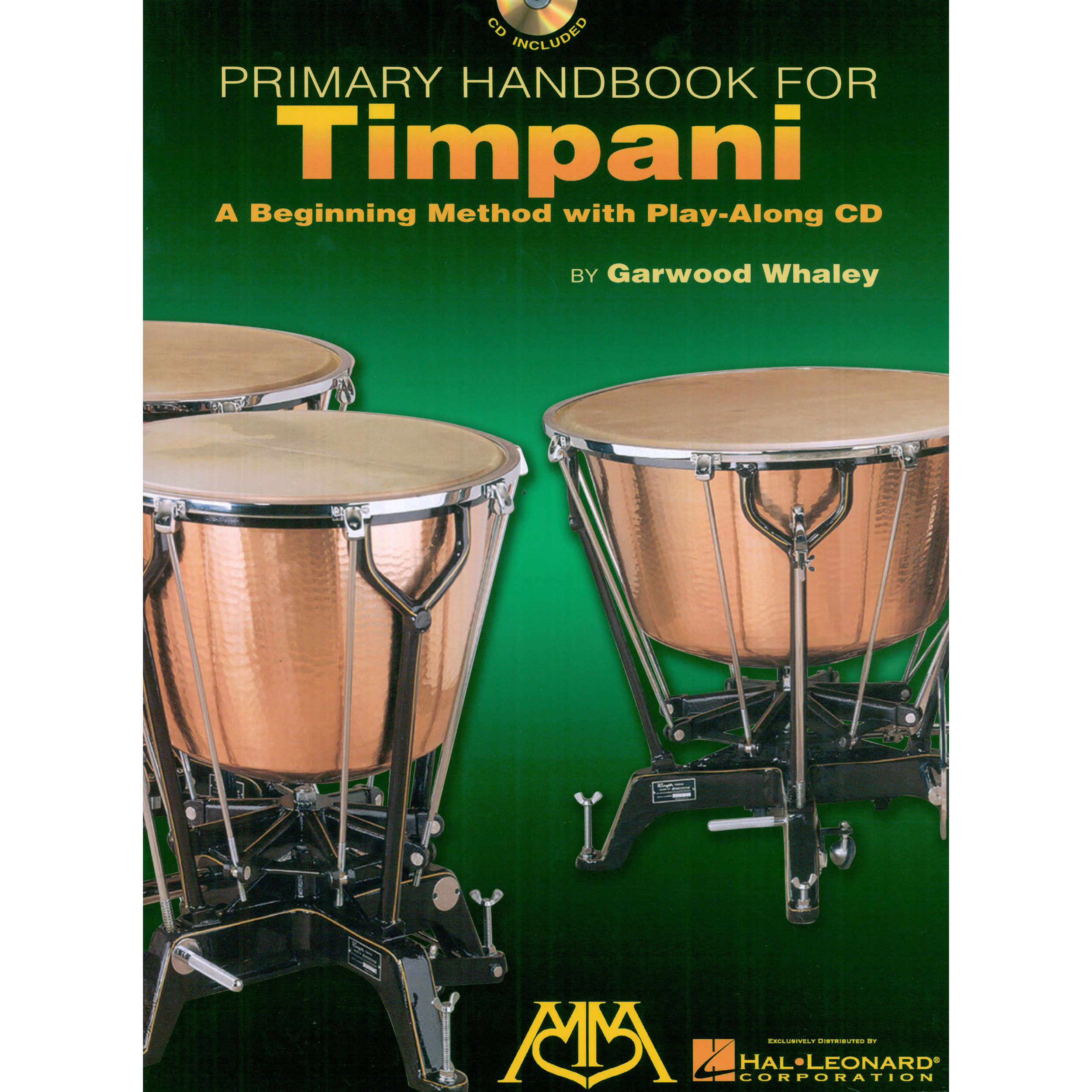 Primary Handbook for Timpani by Garwood Whaley