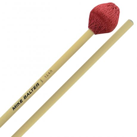 Mike Balter Super Vibe Series Medium Vibraphone Mallets with Rattan Handles