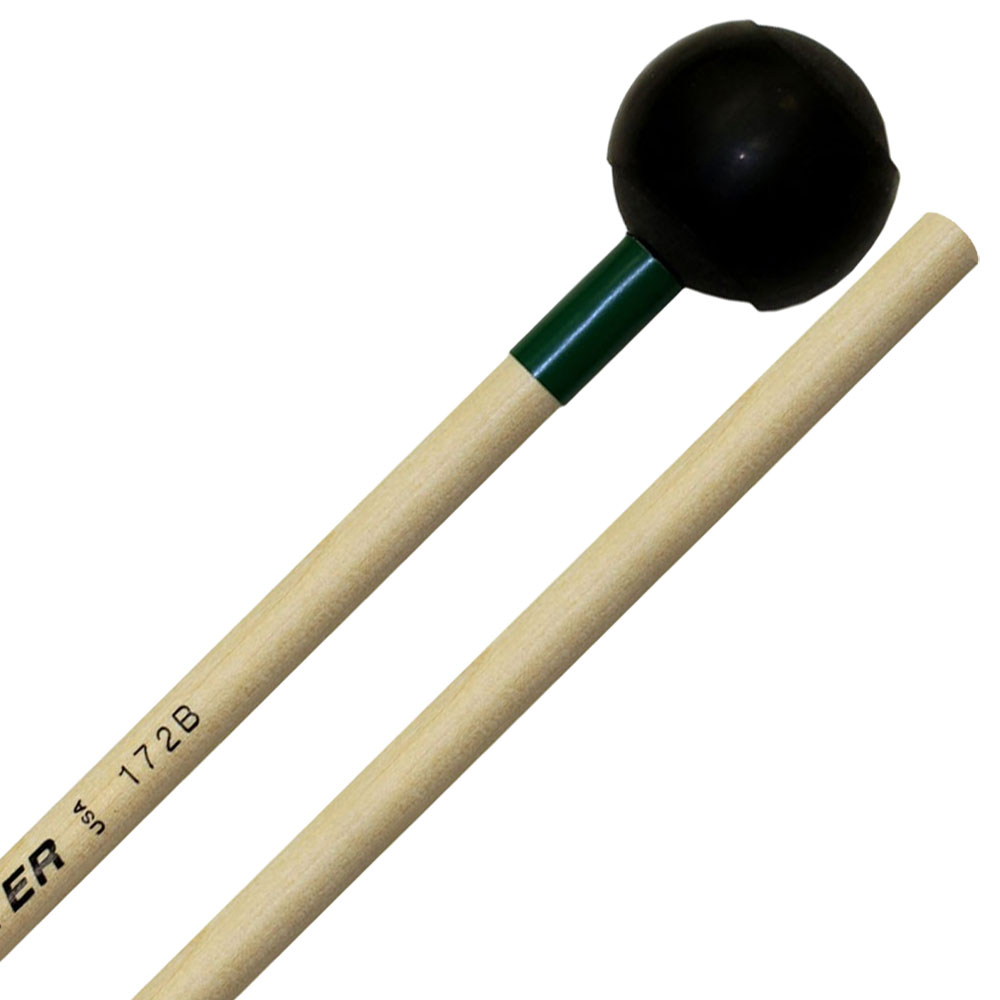 Mike Balter Latex Covered Medium Hard Keyboard Mallets with Birch Handles