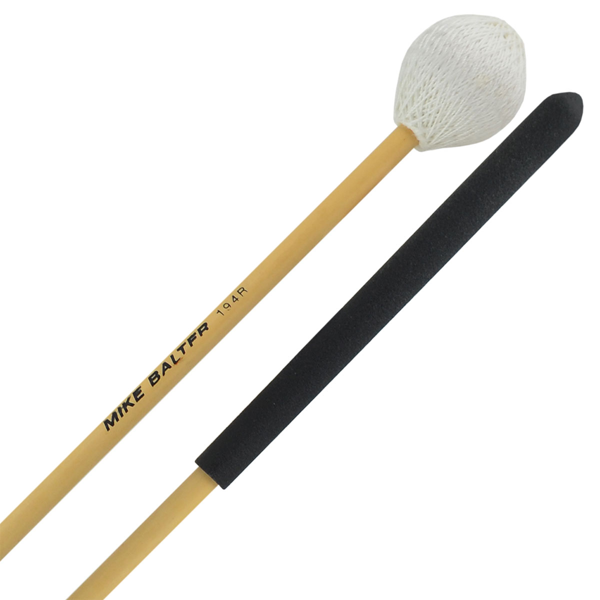 Mike Balter High Volume Medium Soft Vibraphone/Marimba Mallets with Rattan Handles