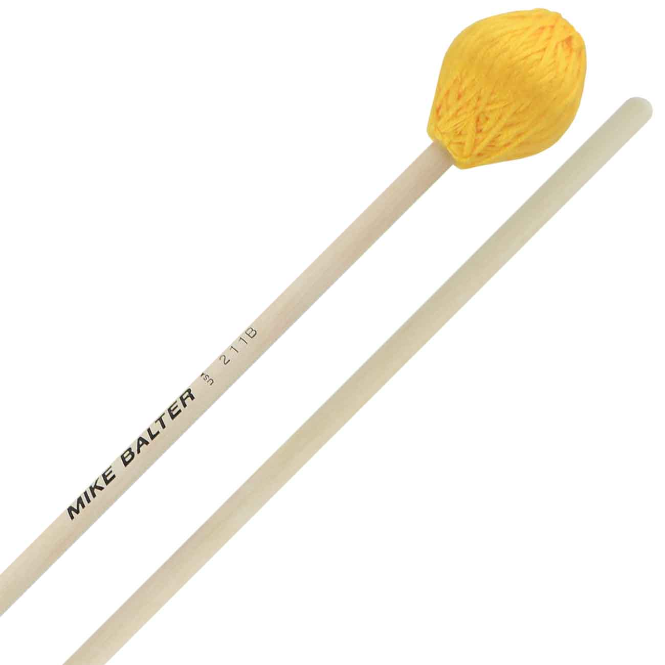 Mike Balter Chorale Series Hard Marimba Mallets with Birch Handles