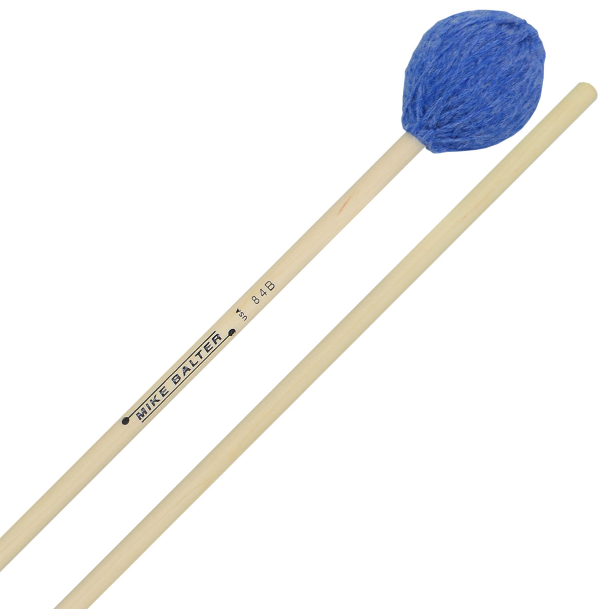 Mike Balter Contemporary Series Medium Soft Marimba Mallets with Birch Handles