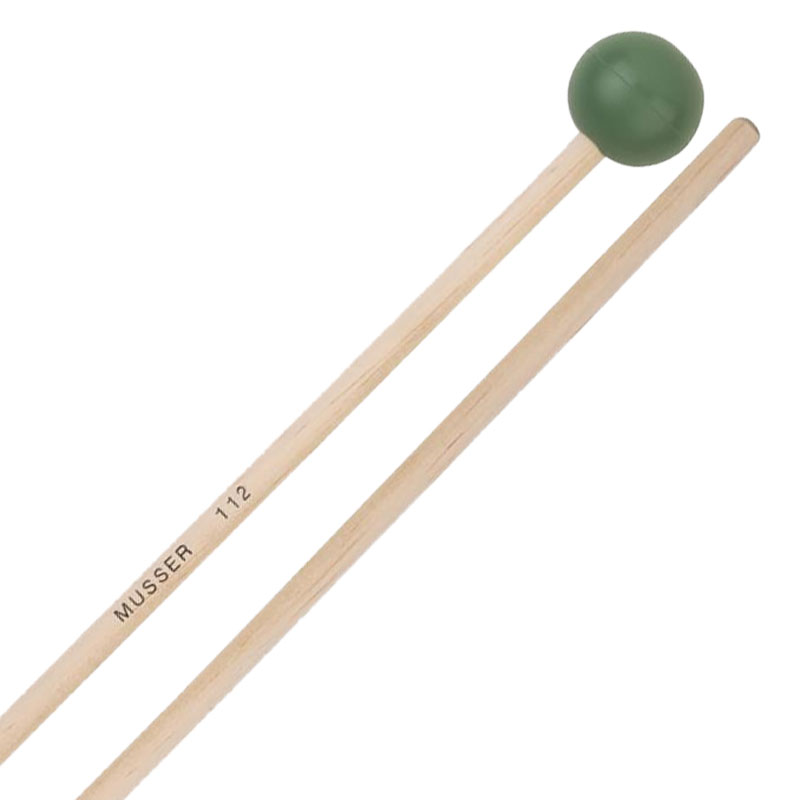 Musser Medium Rubber Xylophone Mallets