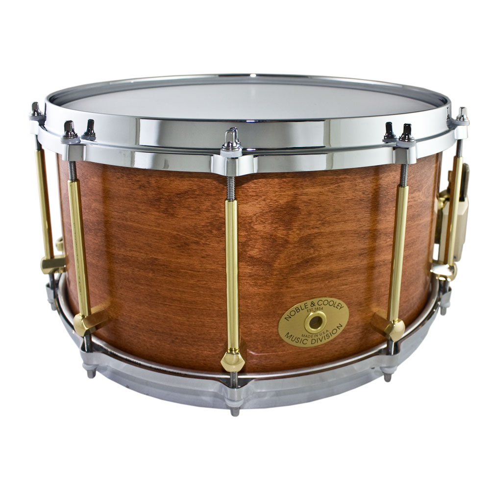 "Noble & Cooley 7"" x 14"" Classic Solid Shell Maple Snare Drum"