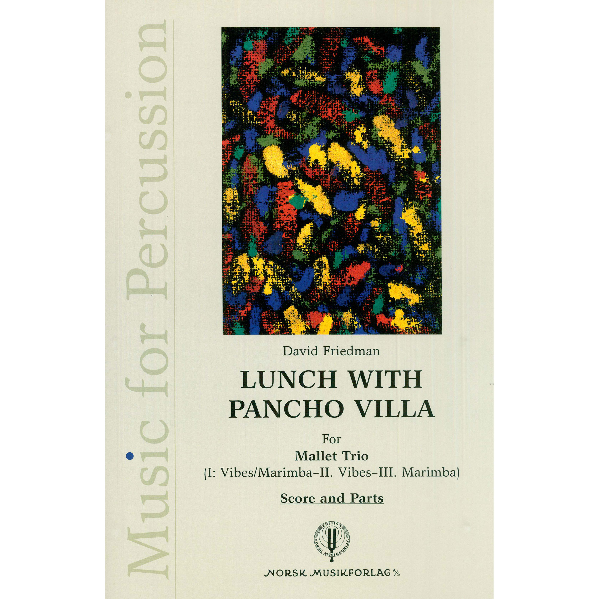 Lunch with Pancho Villa by David Friedman