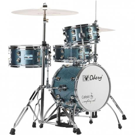 Odery Drums 4-Piece Cafekit Drum Set with Hardware (14
