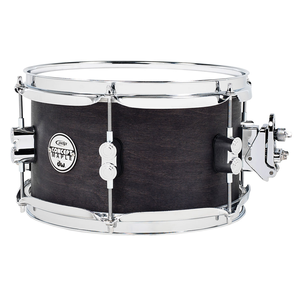 "PDP 6"" x 10"" Concept Black Wax Maple Snare Drum"