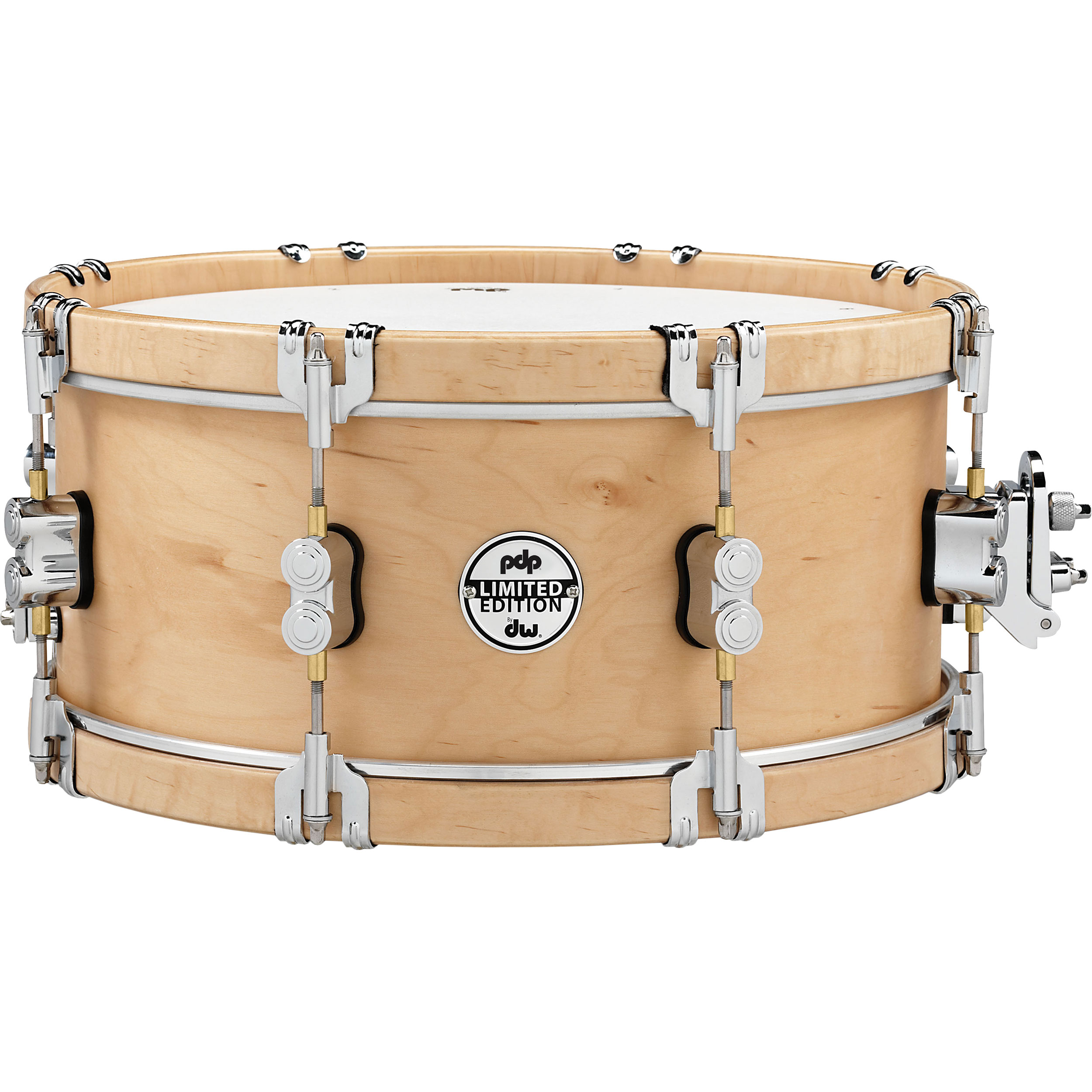 "PDP 6"" x 14"" Limited Edition Classic Wood Hoop Snare Drum"