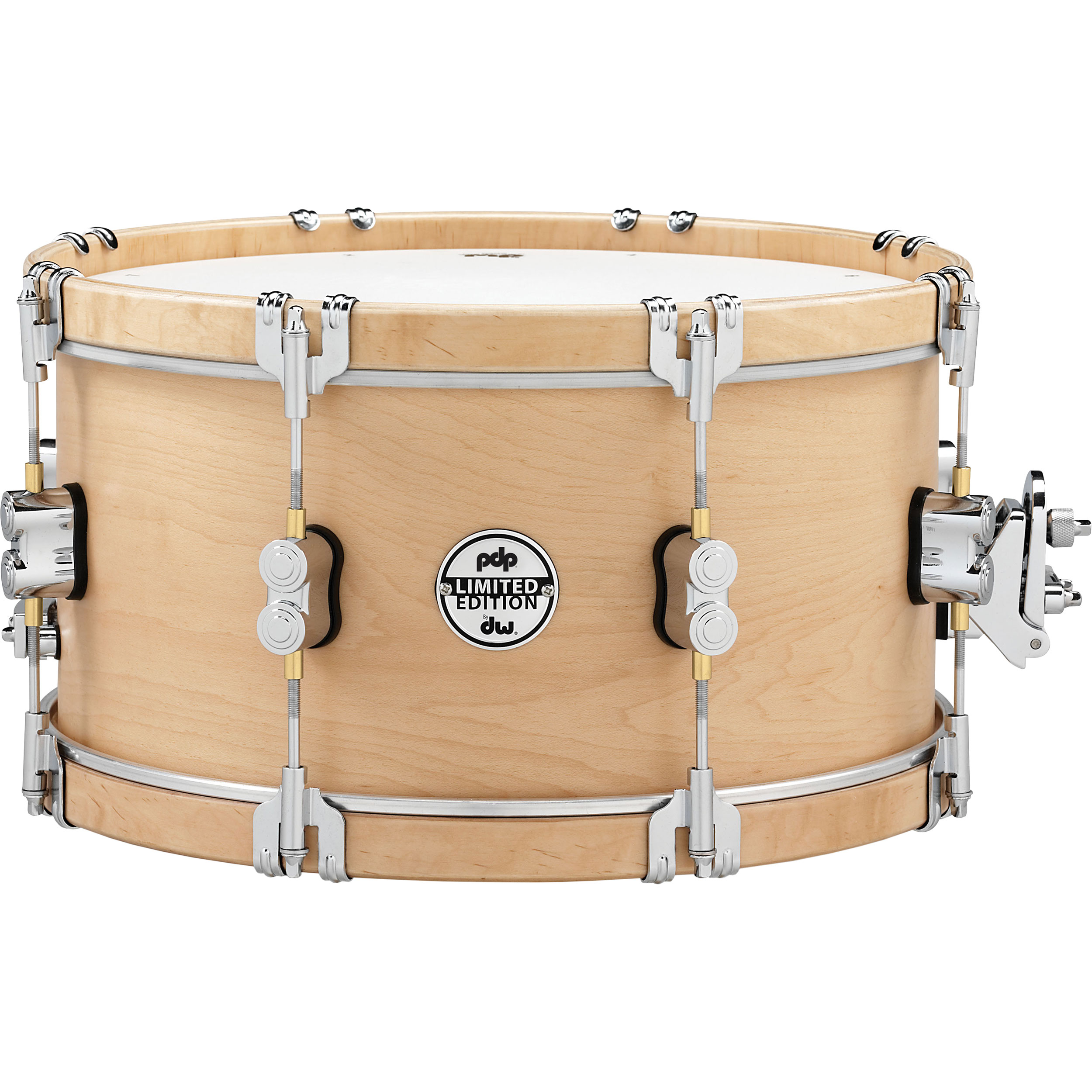 "PDP 7"" x 14"" Limited Edition Classic Wood Hoop Snare Drum"