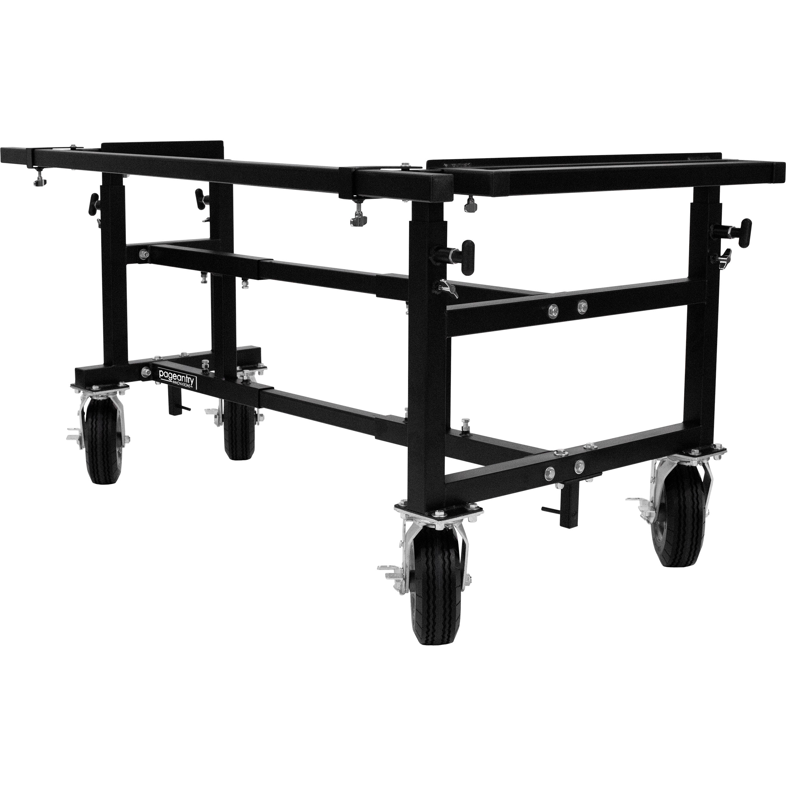 "Pageantry Innovations Small Universal Mallet Instrument Cart (40""-65"" Adjustable Width)"