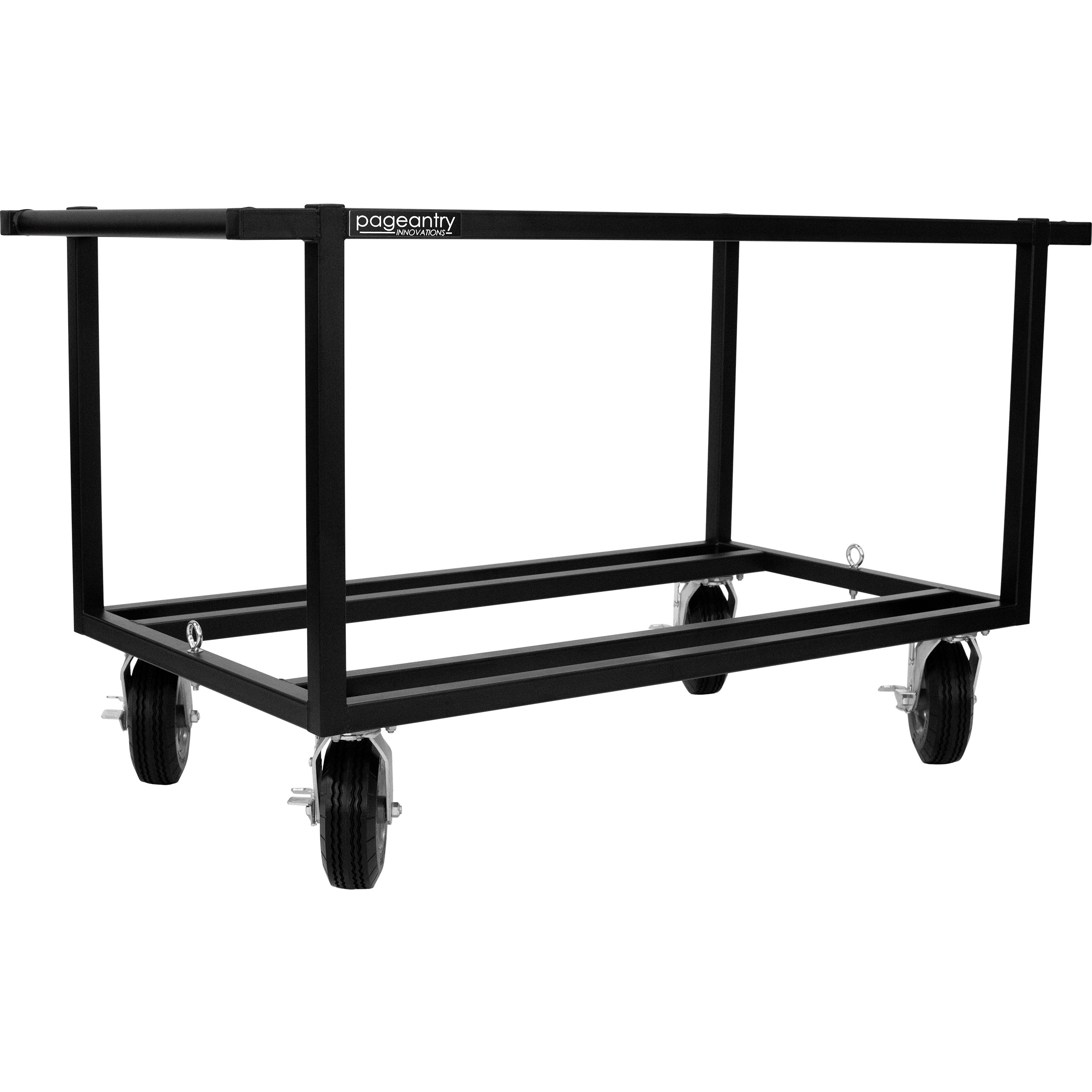 Pageantry Innovations Double Sub Speaker Cart - No Top