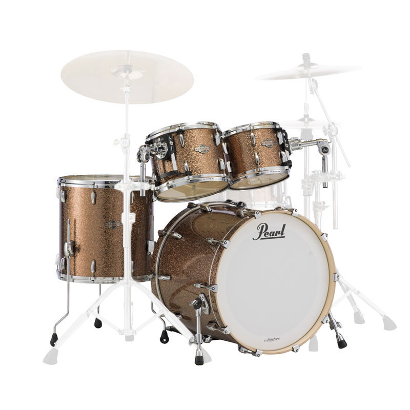 pearl masters bcx birch 4 piece drum set shell pack 22 bass 10 12 16 toms bcx924xsp. Black Bedroom Furniture Sets. Home Design Ideas