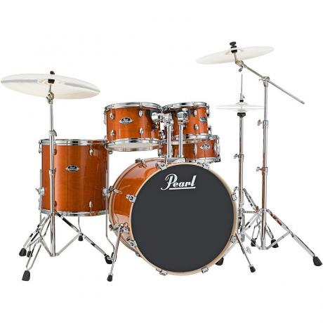 Pearl EXL Export Lacquer 5-Piece Drum Set with Hardware (20