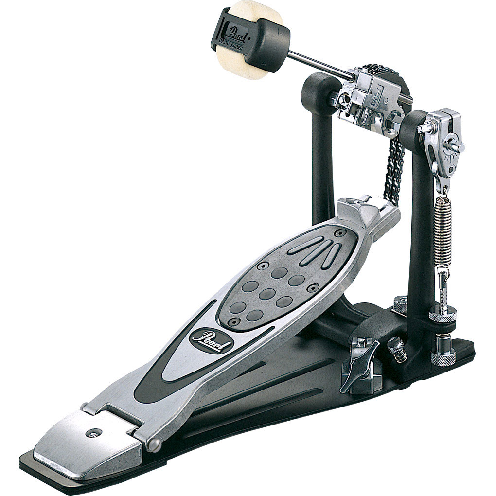 Pearl PowerShifter Eliminator Double Chain Drive Bass Pedal with Case