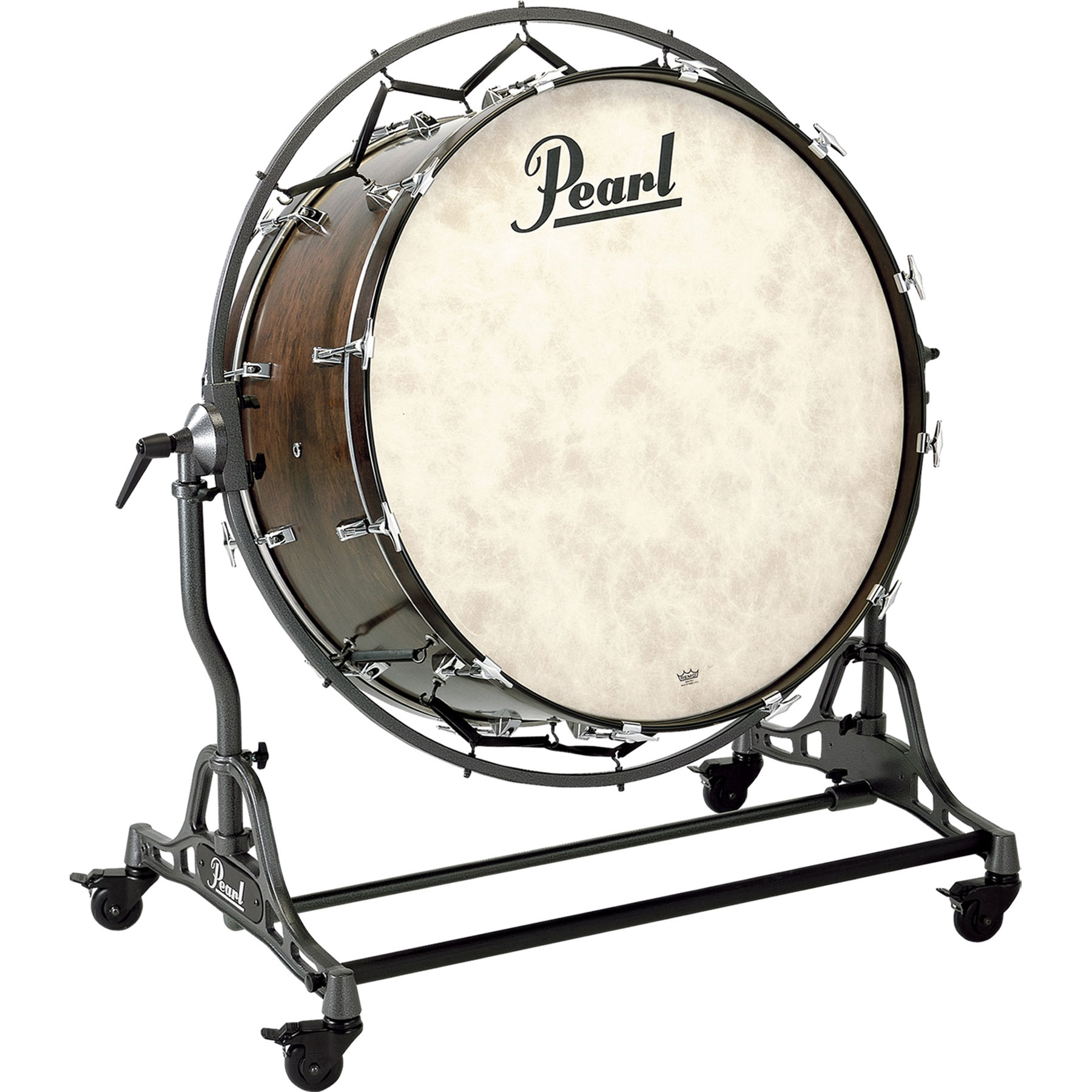 "Pearl 36"" (Diameter) x 16"" (Deep) Philharmonic African Mahogany Concert Bass Drum with STBD Stand"