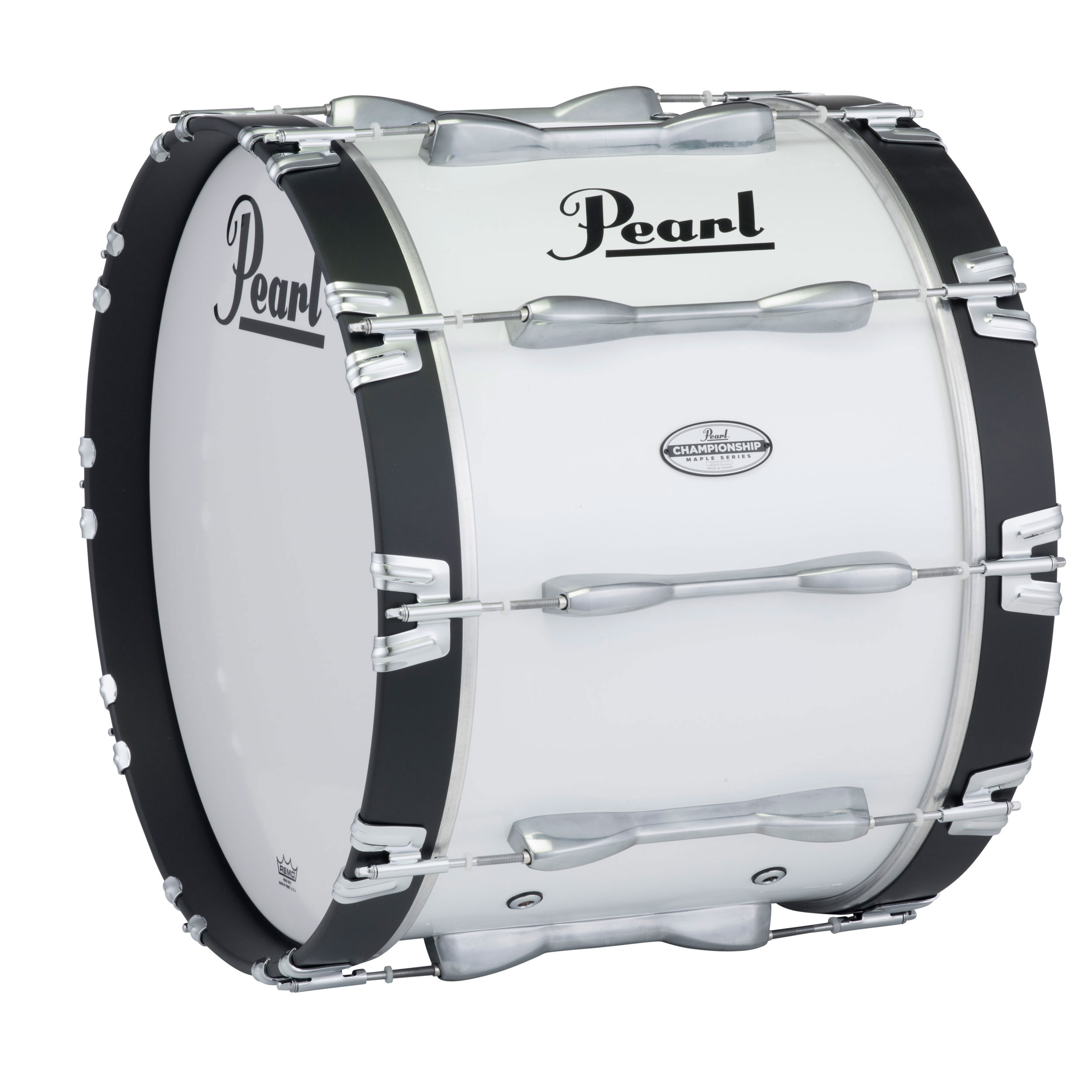 "Pearl 22"" PBDM Championship Maple Marching Bass Drum in Wrap Finish"