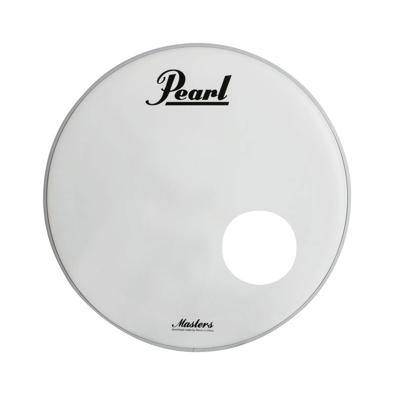"Pearl 22"" Powerstroke P3 Coated Bass Drum Head with Masters Complete Logo"