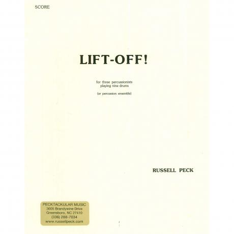 Lift-Off! by Russell Peck
