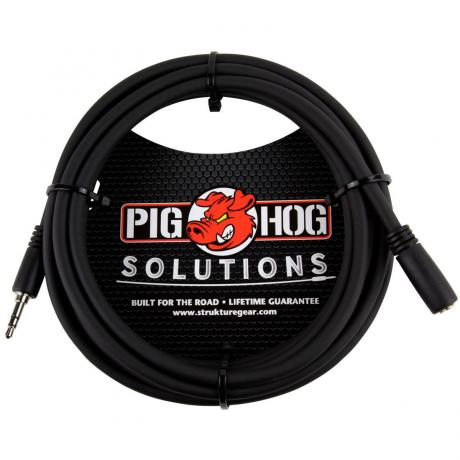 Pig Hog Solutions 10' 3.5mm Headphone Extension Cable