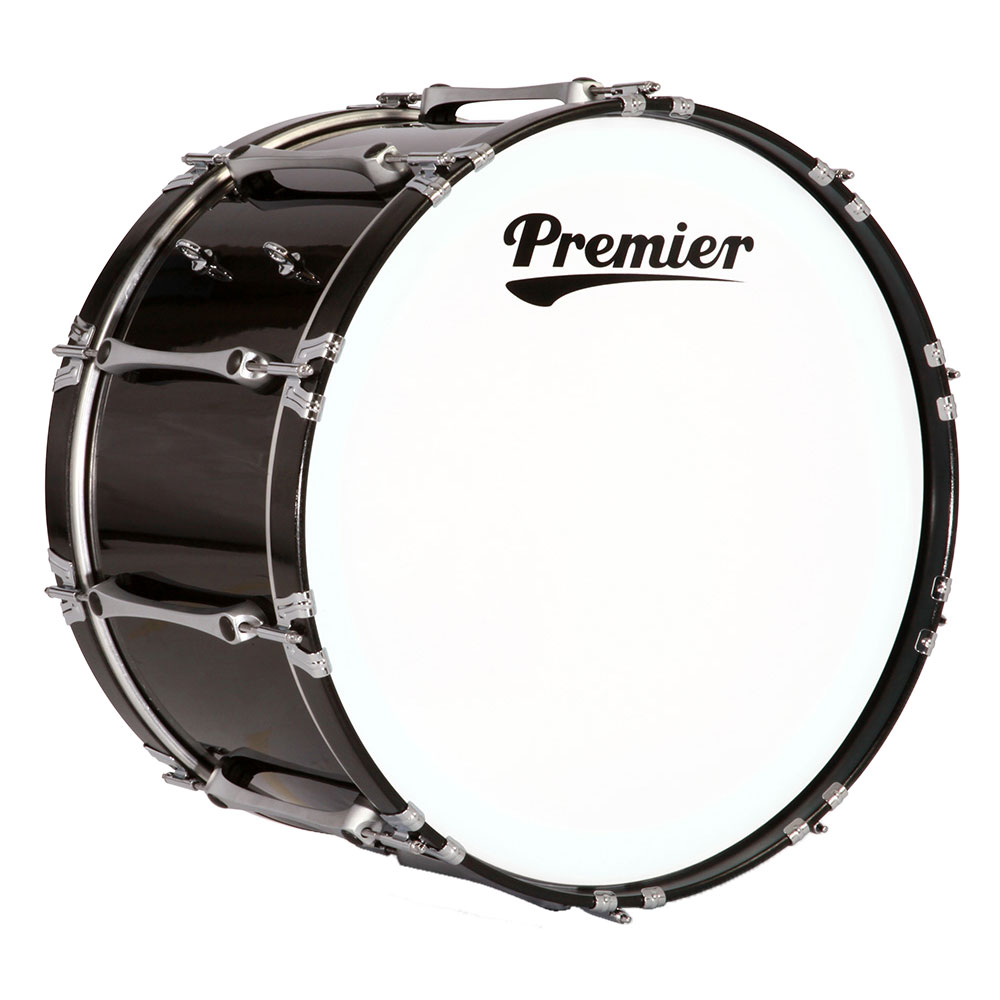 "Premier 14"" Revolution Marching Bass Drum with Standard Finish"