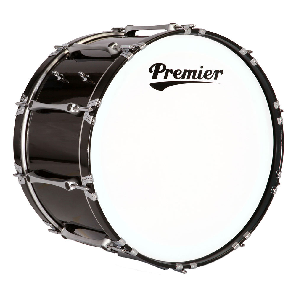 Premier 16 Revolution Marching Bass Drum With Standard Finish