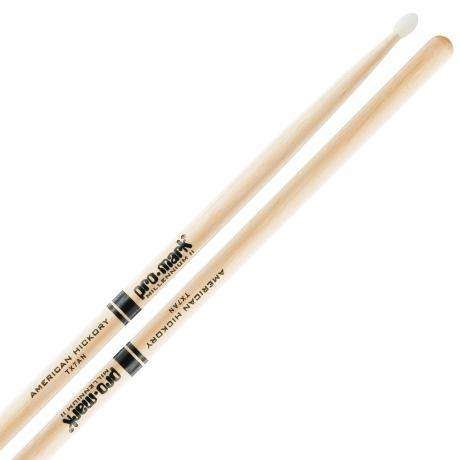 Promark American Hickory 7A Nylon Tip Drumsticks