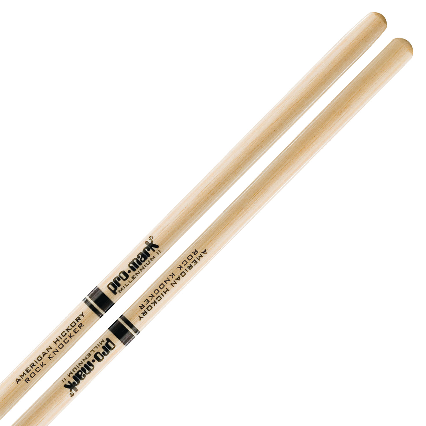 Promark American Hickory Rock Knocker Drumsticks