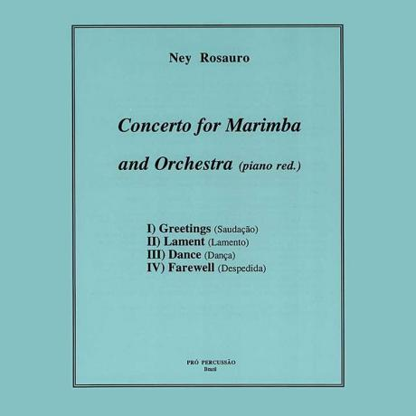Concerto No. 2 for Marimba and Orchestra (Piano Red.) by Ney Rosauro