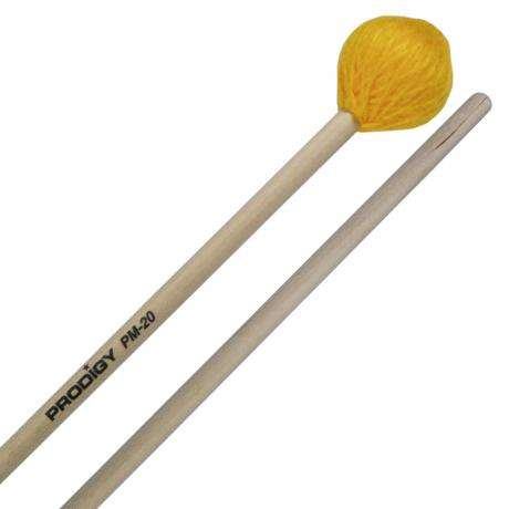 Prodigy Hard Yarn Marimba Mallets with Birch Handles