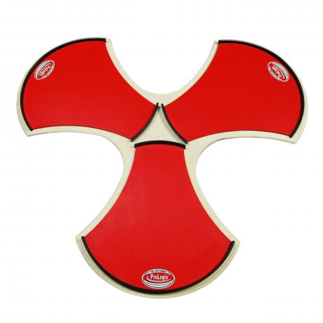 Prologix Percussion Red Logix Tri-Sectional Practice Pad