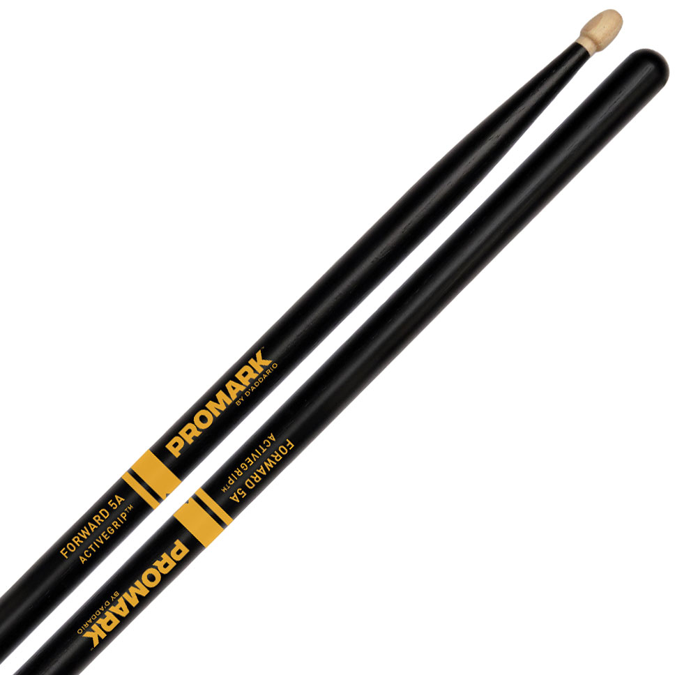 Promark Forward 5A ActiveGrip Drum Sticks with Acorn Tips