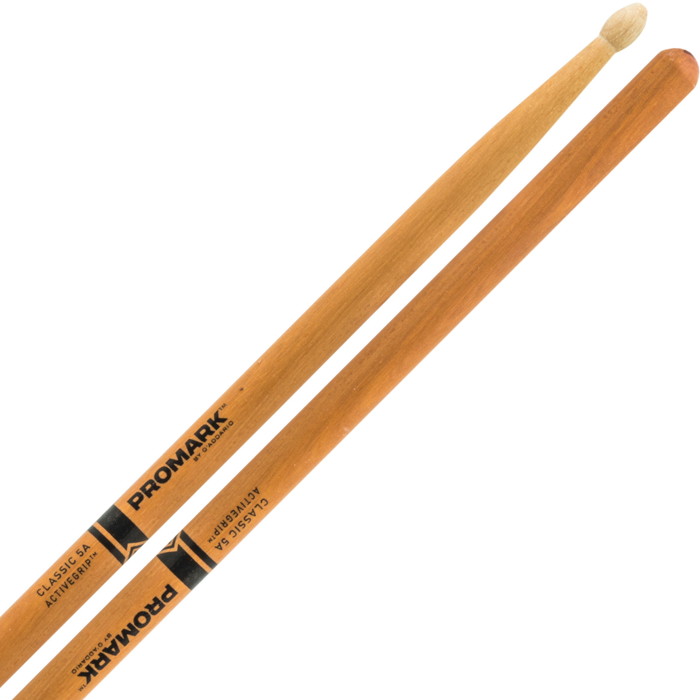 Promark Classic 5A ActiveGrip Clear Hickory Drum Sticks