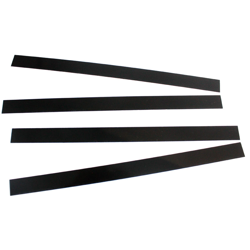 PureSound Black Mylar Snare Wire Mounting Straps, 4 Pack