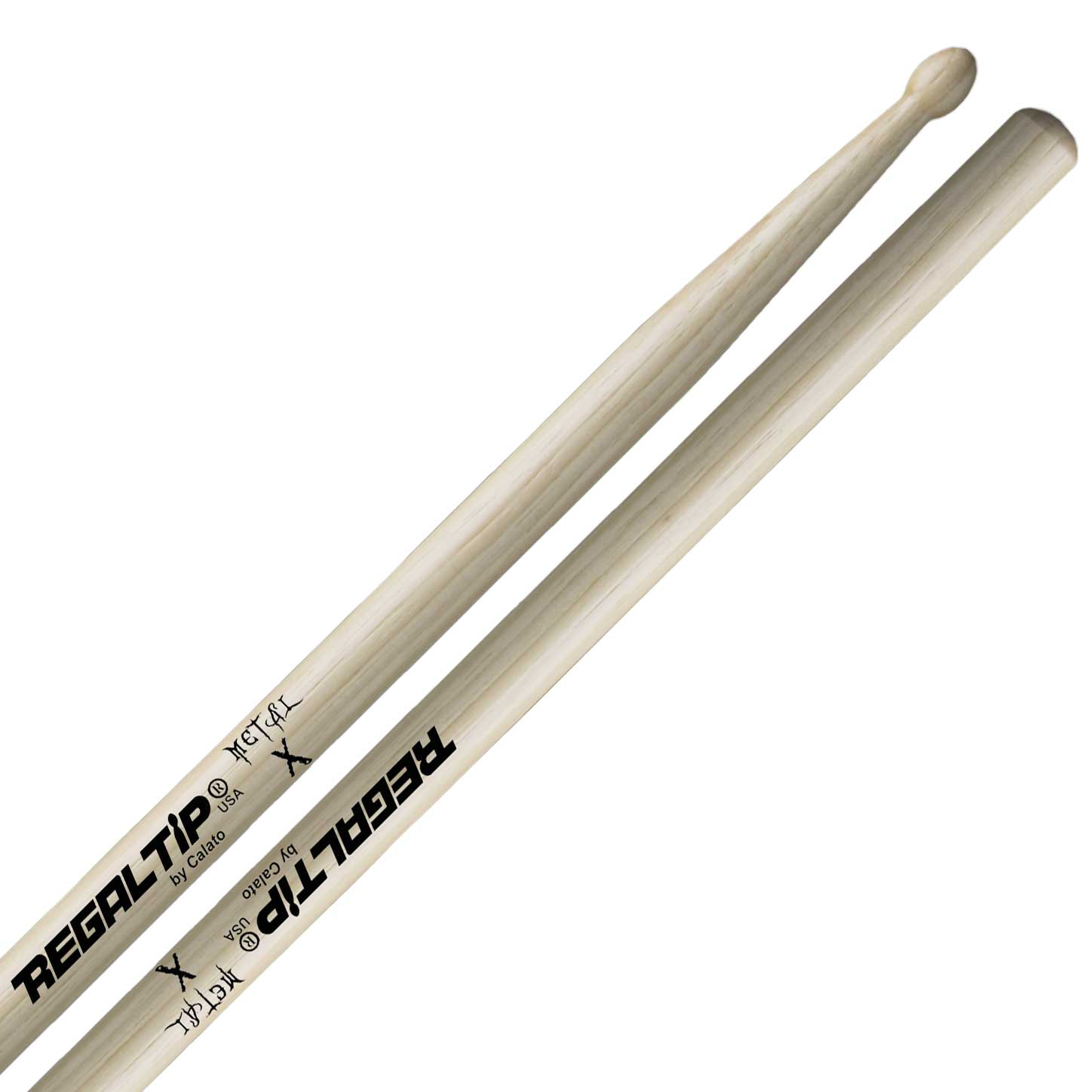Regal Tip X Series Metal X Wood Tip Drumsticks