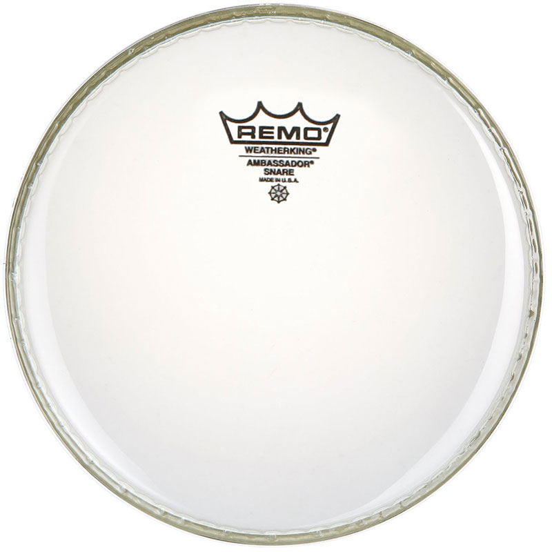 "Remo 8"" Ambassador Clear Drum Head"