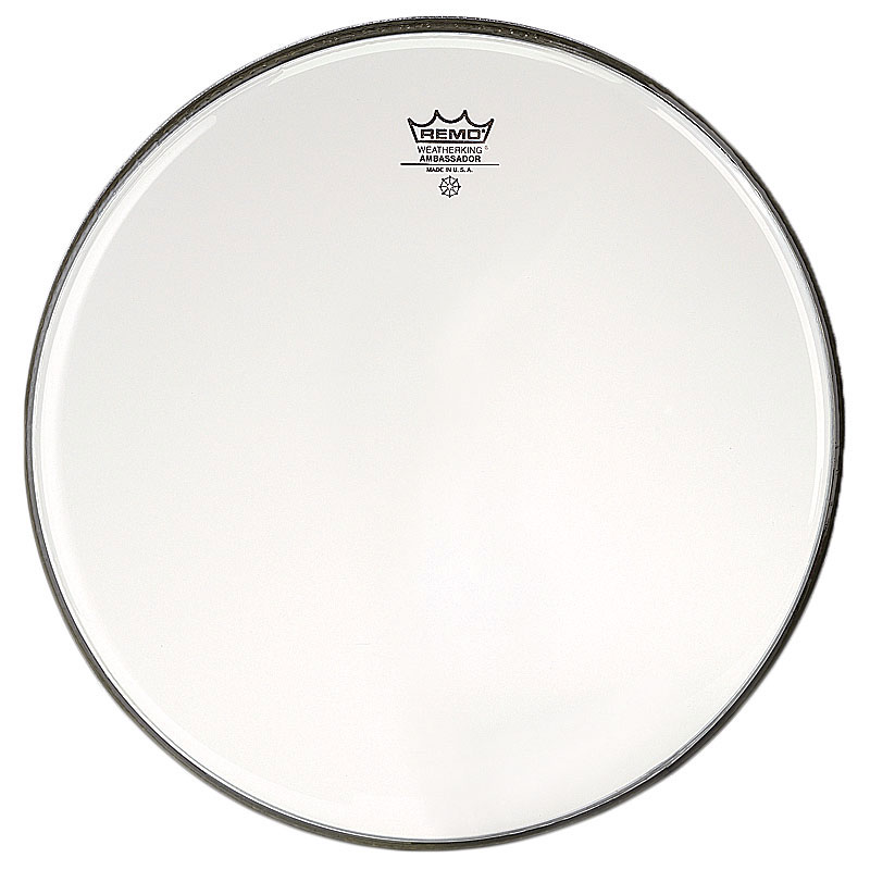 "Remo 16"" Ambassador Clear Drum Head"