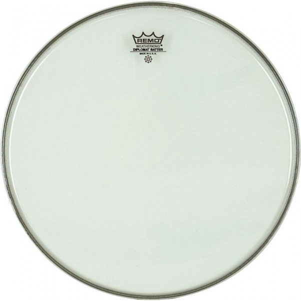 "Remo 14"" Clear Diplomat Head"