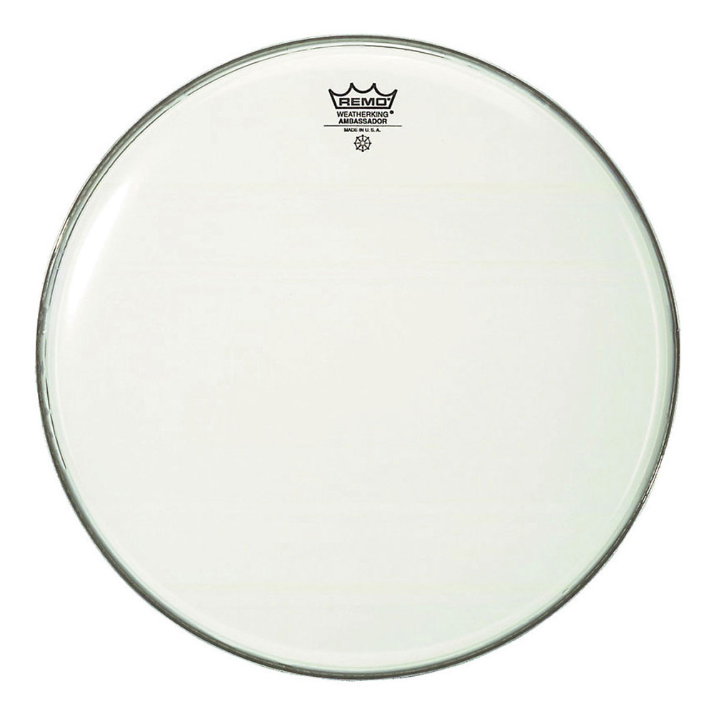 "Remo 18"" Ambassador Smooth White Bass Drum Head"