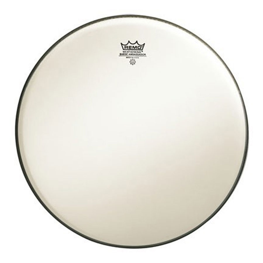"Remo 18"" Ambassador Suede Bass Drum Head"