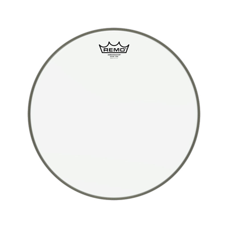 "Remo 13"" Ambassador Hazy Classic Fit Snare Side (Bottom) Drum Head"