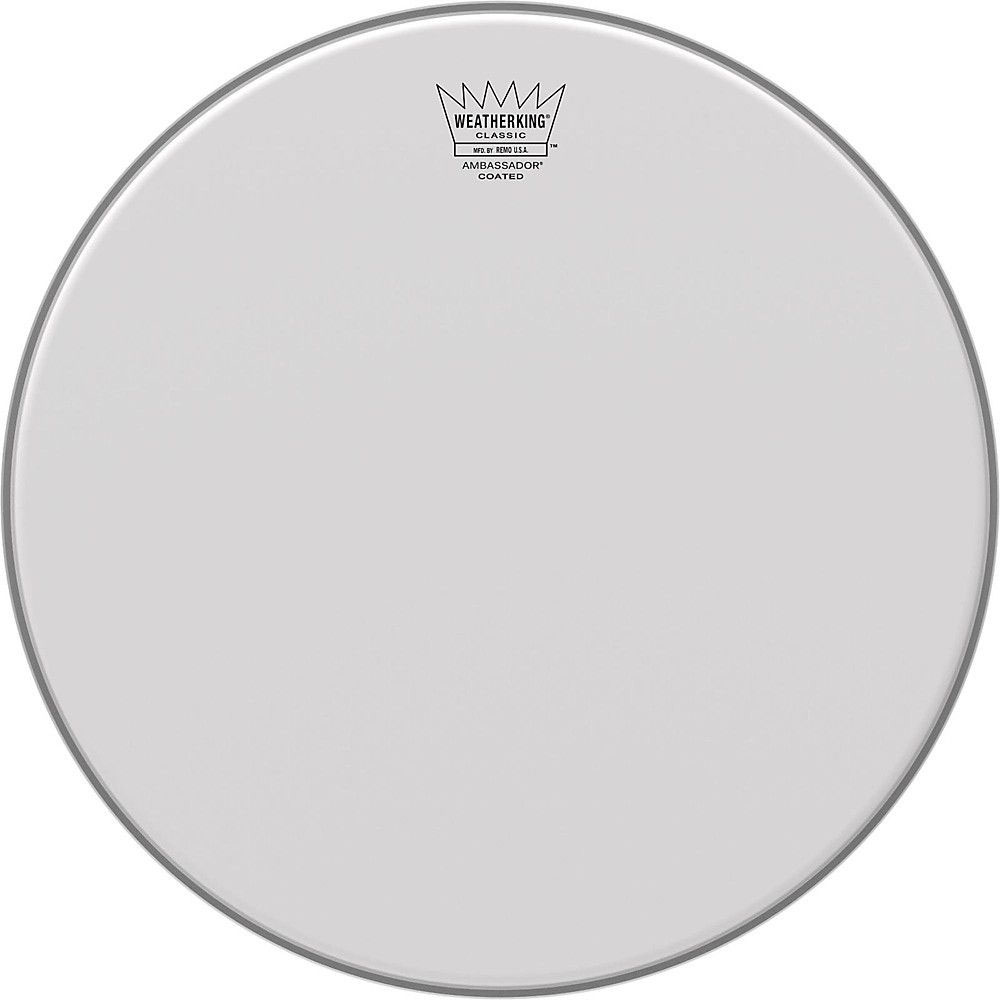 "Remo 18"" Ambassador Coated Classic Fit Drum Head"