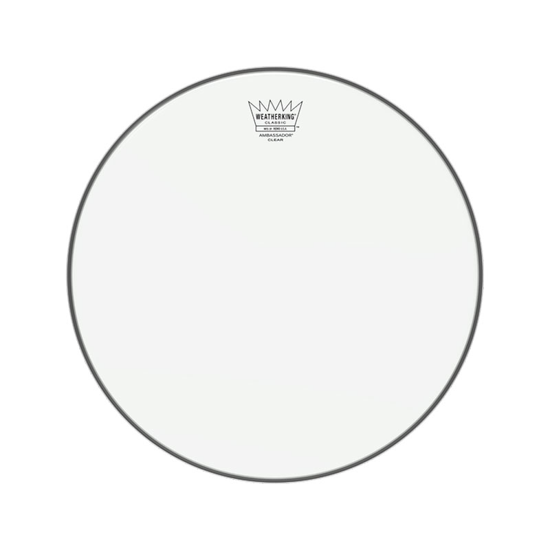 "Remo 18"" Ambassador Clear Classic Fit Drum Head"