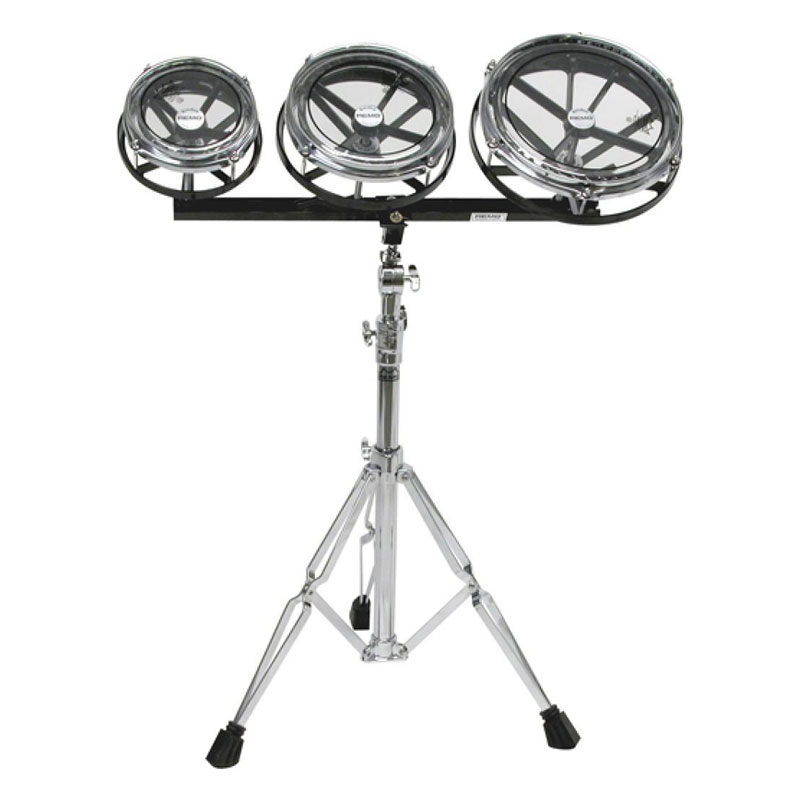 "Remo 6/8/10"" Rototoms with Stand"