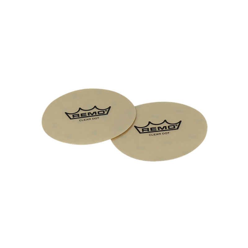 "Remo 4"" Sound Control Clear Dot Patch (2-Pack)"