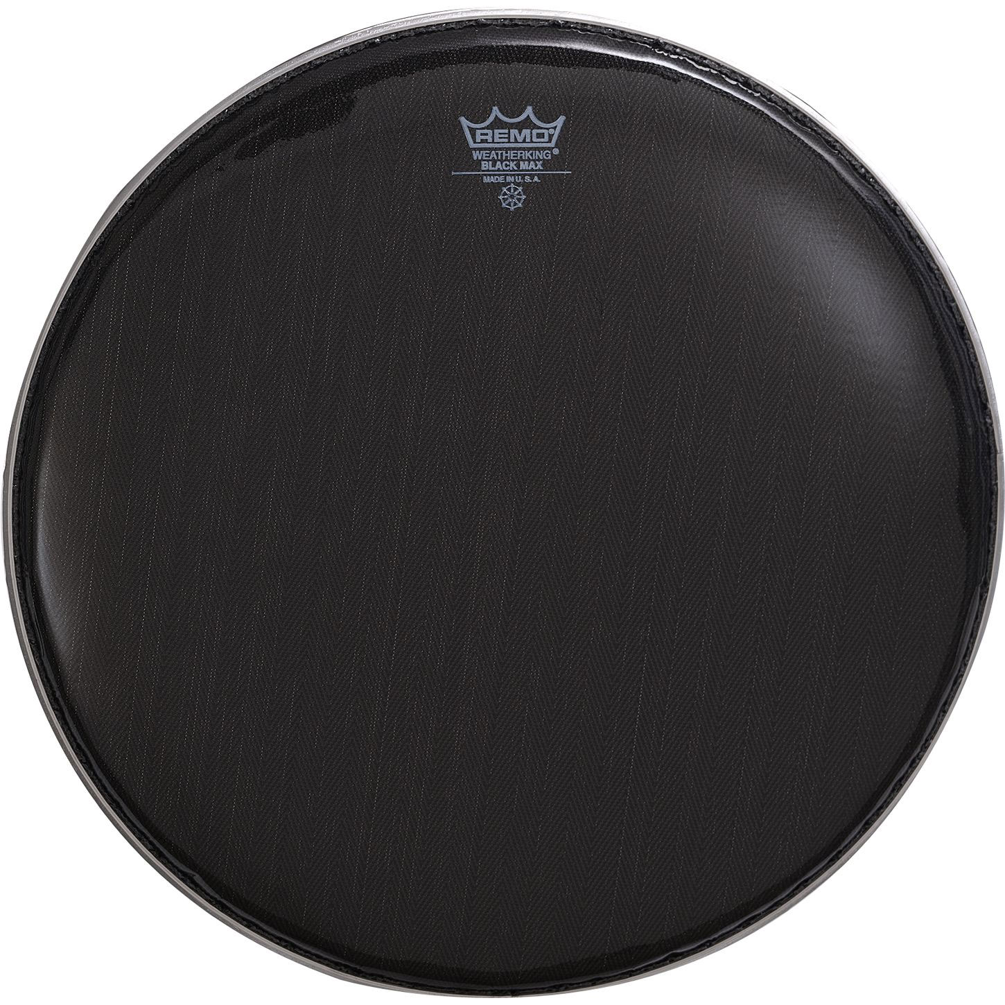 """Remo 14"""" Black Max Marching Snare Top Head"""
