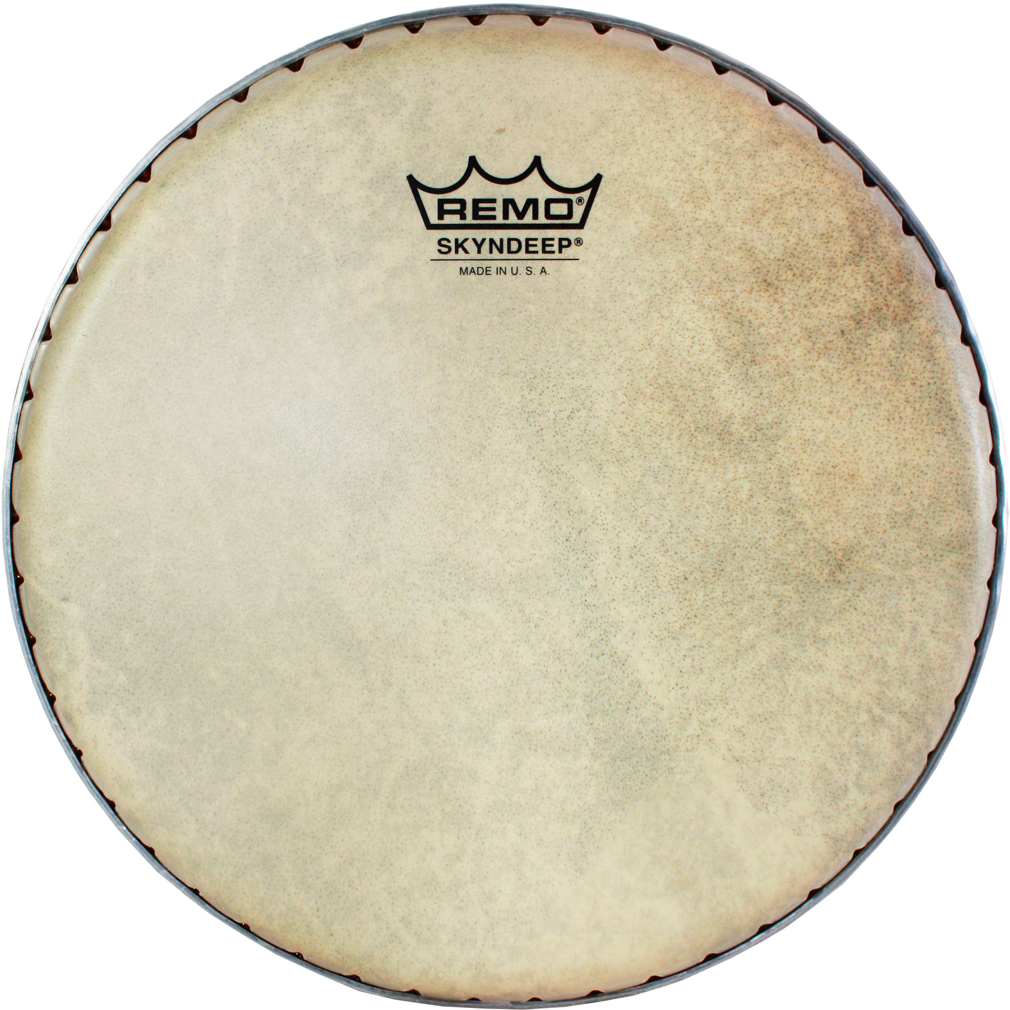 "Remo 9.75"" Symmetry Skyndeep Conga Drum Head (D1 Collar) with Calfskin Graphic"