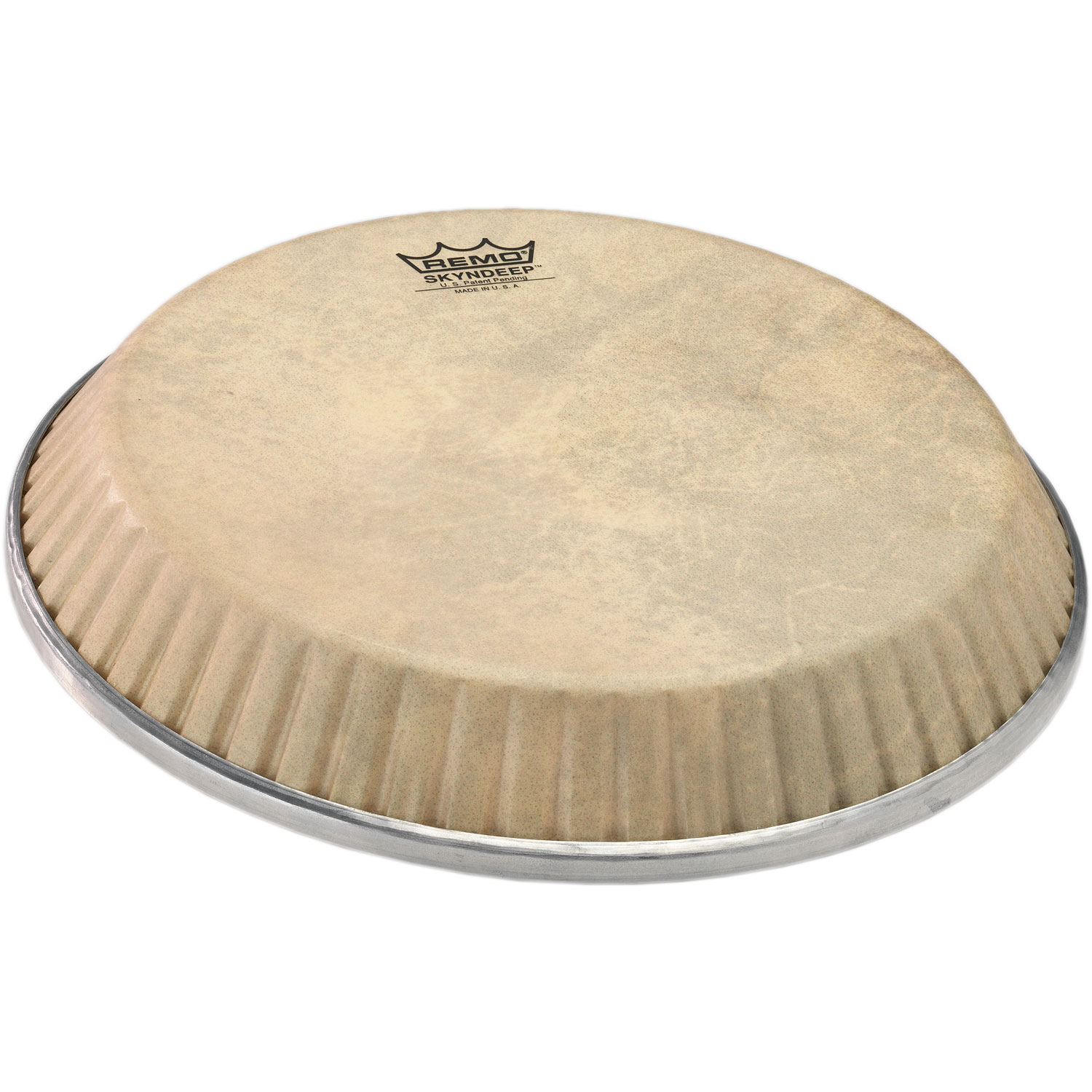 "Remo 12.25"" Symmetry Skyndeep Conga Drum Head (D1 Collar) with Calfskin Graphic"