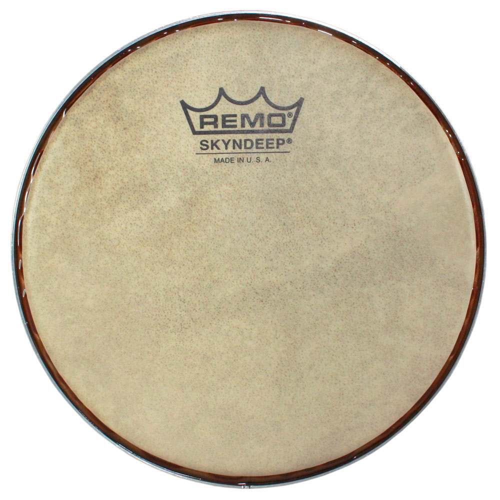 "Remo 8.5"" Skyndeep R-Series Bongo Head with Calfskin Graphic"