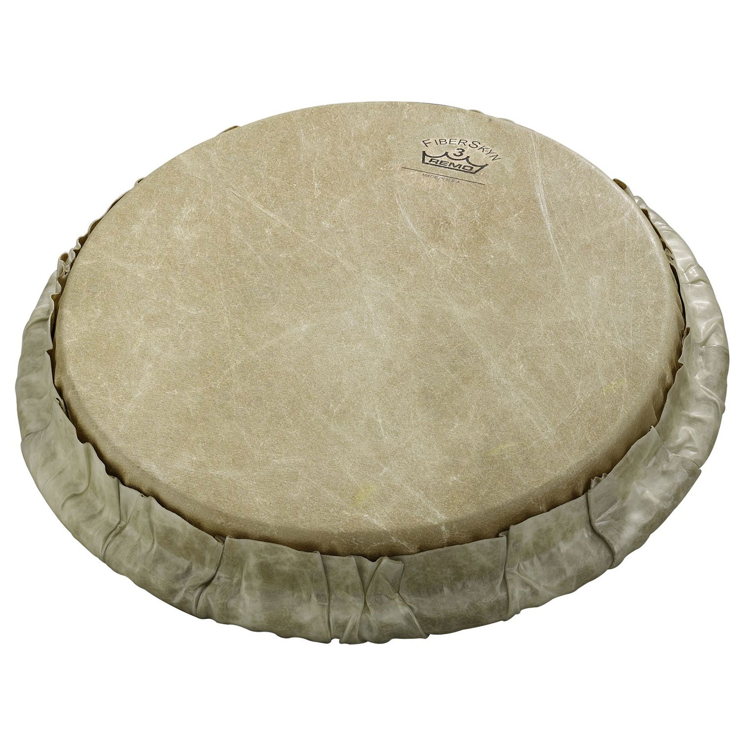 """Remo 7.15"""" Tucked Skyndeep Bongo Drum Head with Calfskin Graphic"""